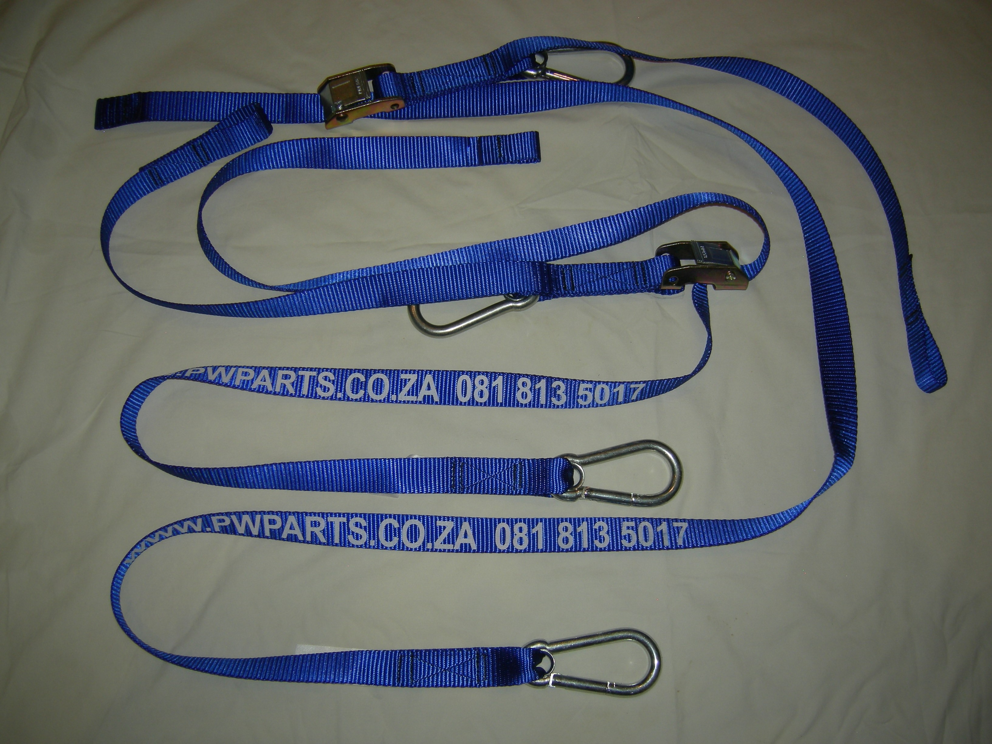 High Quality Bike Straps. Soft loop and turn buckle,