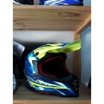 Youth Faseed Helmet Small Blue/Yellow