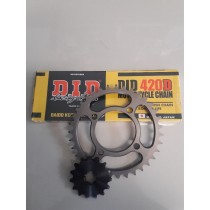 PW80 Performance Chain and Sprocket Combo