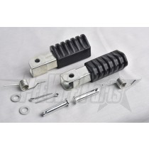 pw50/pw80 Complete Footpegs Rubber, Foot pegs