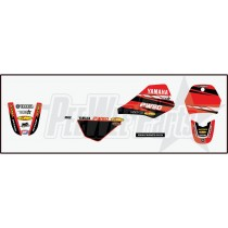 pw80 Decals stickers-yamaha red