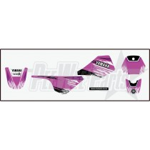 PW80 Decals Stickers Set - Yamaha Pink